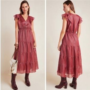 Dolan Collection Sawyer Silk Midi Dress NWT SP